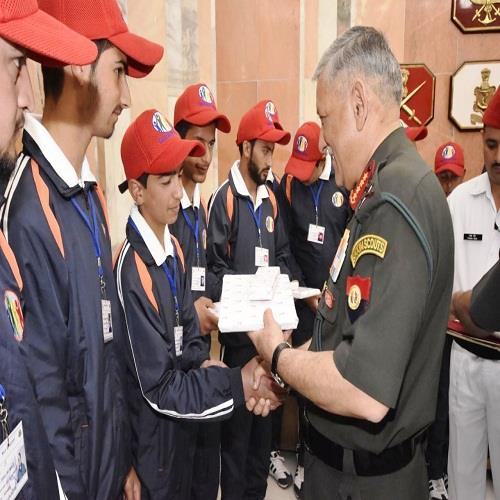 Capacity Building Tour 2018 To New Delhi, With Chief Of Army Staff, Mr Bipin Rawat at South Block, Ministry Of Defense
