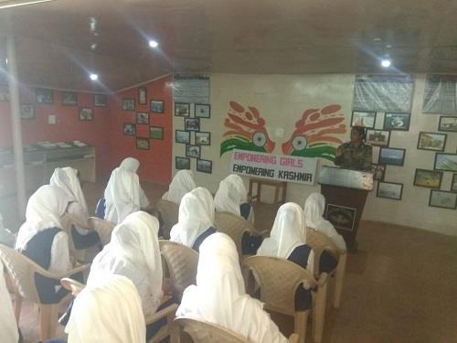 WOMEN EMPOWERMENT - A LECTURE ON WORLD MENSTRUATION DAY 2019 BY ARMY MEDICAL OFFICER
