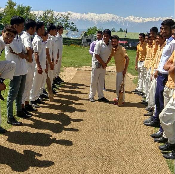 Inter house cricket match